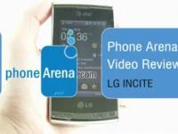 Видео обзор LG INCITE