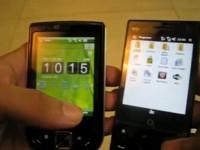 Видео сравнение ASUS P565 vs HTC DIAMOND