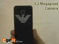 Видео обзор Samsung Emporio Armani M7500