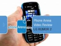 Видео обзор LG Rumor 2