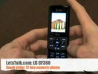 Видео обзор LG CF360