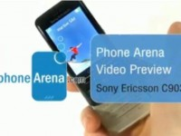 Видео обзор Sony Ericsson C903