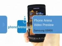 Видео обзор Samsung S5600