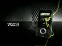 Демо-видео Sony Ericsson W205