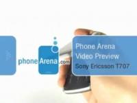 Видео обзор Sony Ericsson T707
