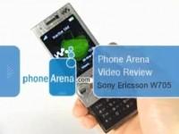 Видео обзор Sony Ericsson W705