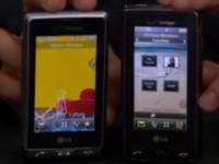 Видео сравнение LG Dare vs LG Versa