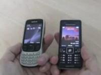 Cравнительный видеообзор Nokia 6303 vs Sony Ericsson C510