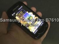 Видео обзор Samsung Omnia Pro B7610