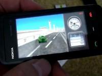 Видео обзор Nokia 5530 XpressMusic: 3D гонки