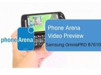 Видео обзор Samsung OmniaPRO B7610