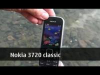 Видео тест Nokia 3720 Classic - Под водой