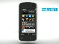 Демо-видео Nokia N97 Mini