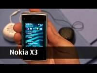 Превью Nokia X3