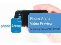 Видео обзор Samsung OmniaPRO B7330