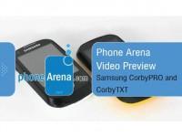 Видео обзор Samsung CorbyTXT