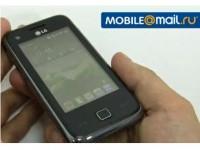 Видео обзор LG GM730: Первый Windows Mobile с 3D-интерфейсом S-Class