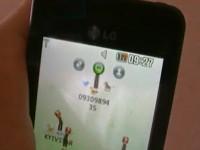 Солнечное зарядное устройство LG GD 510 Sun Edition