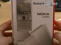 Видео распаковки комплекта поставки Nokia E72
