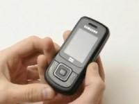 Видео обзор Samsung E1360