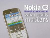 Промо видео Nokia C3