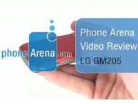 Видео обзор LG GM205