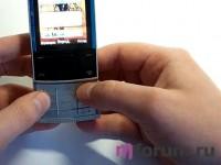 Обзор Nokia X3 - клавиатура