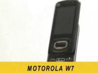 Видео обзор Motorola W7