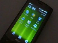 Acer beTouch E101: меню и приложения