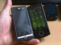 Acer beTouch E101: Внешний вид, сравнение