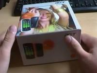 Acer be Touch E101: Распаковка комплекта поставки