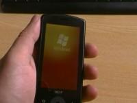 Acer be Touch E101: Включение системы