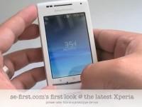 Видео обзор Sony Ericsson Xperia X8