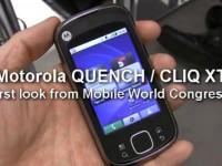 Видео обзор Motorola CLIQ XT