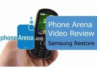 Видео обзор Samsung Restore
