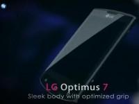 Промо видео LG Optimus 7