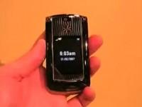 Видео обзор Motorola RAZR2 V8 Luxury от Phonescoop.com