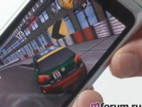 Пример игры NeedForSpeed на Nokia E7