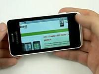 Видео обзор Samsung Wave 723: Интернет