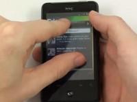 Видео обзор HTC Gratia: Android OS