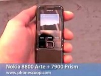 Видео обзор Nokia 8800 Arte и Nokia 7900 Prism от PhoneScoop.com