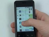 Видео обзор LG Optimus Chic: Интернет