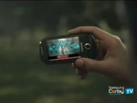 Рекламный ролик Samsung Corby TV