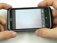 Видео обзор HTC 7 Trophy: Камера