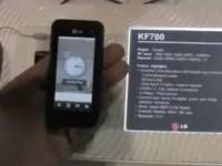 Видео обзор LG KF700 от Phonescoop.com