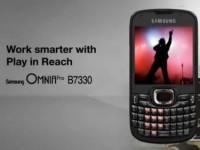 Промо видео Samsung Omnia Pro B7330
