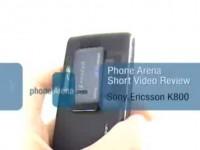 Видео обзор Sony Ericsson K800i от PhoneArena.com