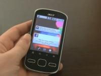 Видео обзор Acer beTouch E140