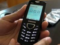 Видео обзор Samsung C5010 Squash
