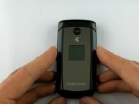 Видео обзор Samsung C5220